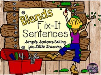 Blends Sentence Editing