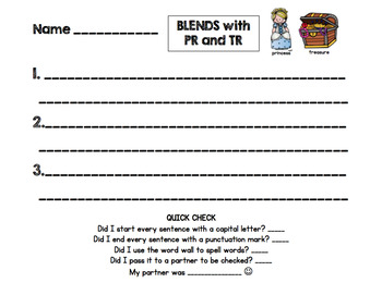 Blends Sentences