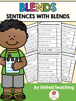 Blends: Sentences with Blends Bundle