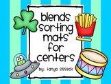 Blends Sorting Mats for Literacy Centers
