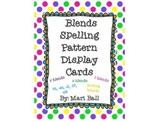Blends Spelling Pattern Cards