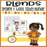 Blends Spelling & Word Study Bundle