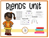 Blends Spelling and Word Study Unit