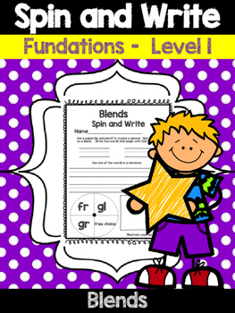 Blends - Spin and Write!