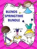 """Springtime Bundle """"L, R, and S Blend"""" (Worksheets)"""