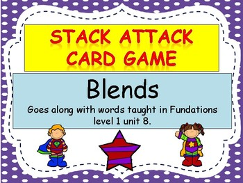 "Blends ""Stack Attack"" Card Game"