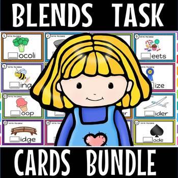 Blends TASK CARDS 1,2,3(50% OFF FOR 48 HOURS)