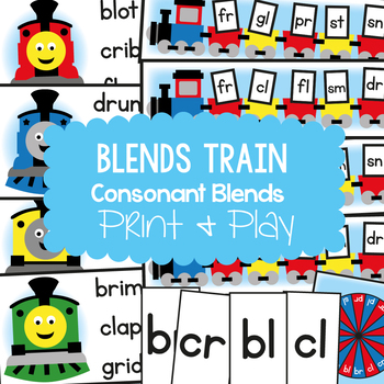 Blends Train Teaching Pack - Phonics Resource