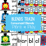 Blends Train Teaching Pack - Phonics Resource (Consonant Blends)