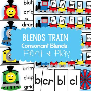Blends Train Teaching Pack - Phonics Resource