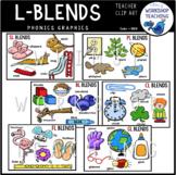 Blends With L Value Bundle Clip Art (6 Sets) Whimsy Worksh