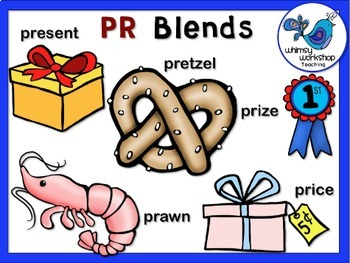 Blends With R Value Bundle Clip Art (7 Sets) Whimsy Workshop Teaching