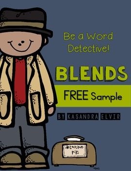 Blends - Word Detective: FREE Sample
