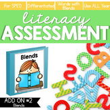Blends Word Lists Literacy Assessment ADD ON #2