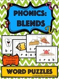 Phonics: Blends - Word Puzzles