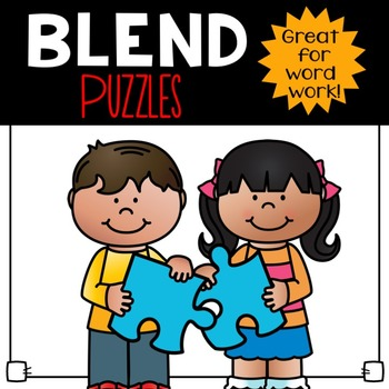 Blends Word Puzzles
