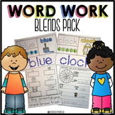 Blends Word Work