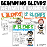 Blends Word Work Bundle