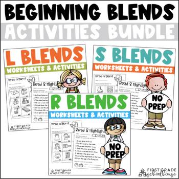 Blends Word Work Bundle