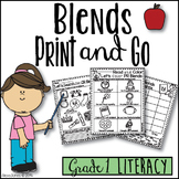 Blends Word Work (Grade 1-2) No Prep!