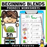 Blends Worksheets {Phonics Workbook}