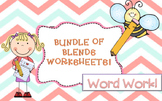 Blends Worksheets!