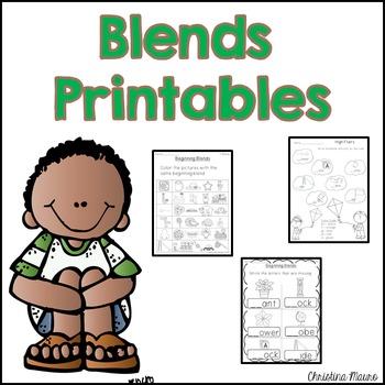 Blends Printables