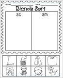 Blends Worksheets