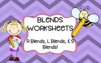 Blends Worksheets