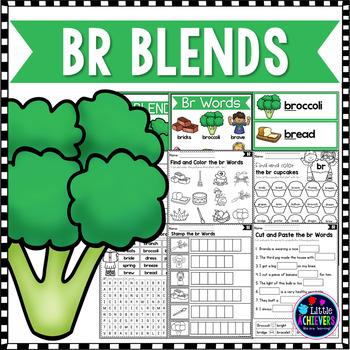 Blends Worksheets - Br Words