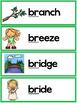 R Blends Worksheets - Br Blend Words