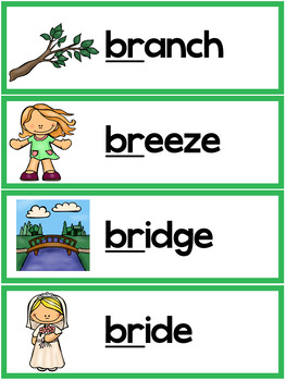5 letter words starting with br r blends worksheets br blend words by achievers tpt 25964 | original 3166157 2