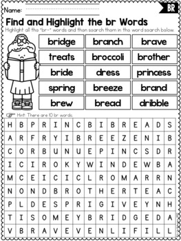 R Blends Worksheets For Perfect Blends Worksheets Free ...