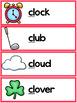 L Blends Worksheets - Cl Blend Words