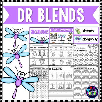 R Blends Worksheets - Dr Words