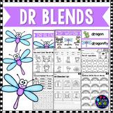 R Blends Worksheets - Dr Blend Words