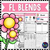 L Blends Worksheets - Fl Blend Words