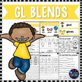 L Blends Worksheets - Gl Blend Words