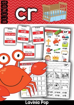 Blends Worksheets and Activities - CR
