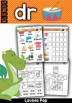 Blends Worksheets and Activities - DR