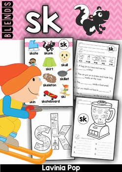 Blends Worksheets and Activities - SK