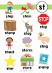 Blends Worksheets and Activities - ST