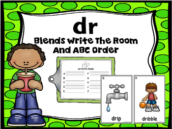 Blends Write The Room (Dr)
