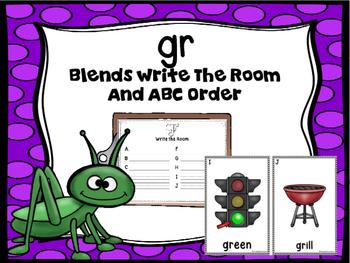 Blends Write The Room (Gr)