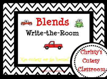 Blends Write-the-Room