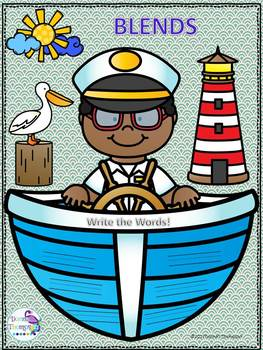 """Ship's Wheel """"L, R, and S Blends"""" (Worksheets)"""