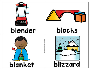 Blends Writing Centers