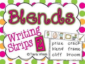 Blends Writing Strips 2