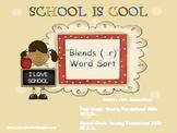 Blends (_r) Word Sort