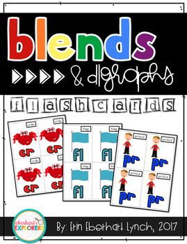 Blends and Diagraph Flashcards